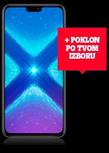 Honor 8X Dual SIM crni