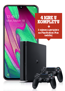 Samsung Galaxy A40 i Sony PlayStation®4 500 GB