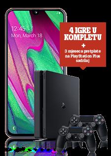 Samsung Galaxy A40 Coral i Sony PlayStation®4 500 GB