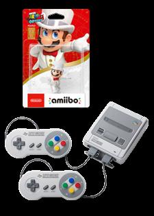 Nintendo Clasic Mini Snes i Amiibo Super Mario Odyssey