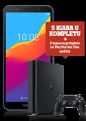 Honor 7S Dual SIM plavi i Sony PlayStation®4 Slim 500GB