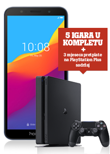 Honor 7S Dual SIM plavi i Sony PlayStation®4 Slim 500GB