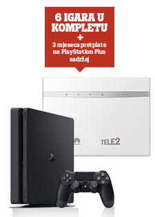 Huawei B525 i PlayStation®4 Slim 500GB