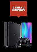 Honor 10 Lite crni Dual SIM i PlayStation®4 1TB
