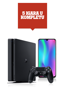 Honor 10 Lite crni Dual SIM i PlayStation®4 1TB