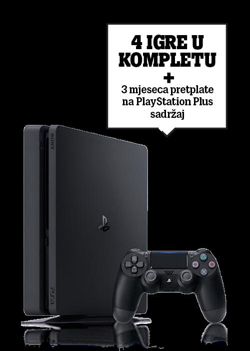 PlayStation®4 500GB 2020 Black