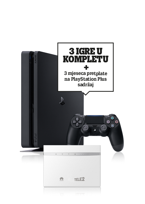 Sony PlayStation®4 1TB i Huawei router