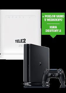 ZTE 4G WiFi Router i PlayStation®4 Slim 500GB