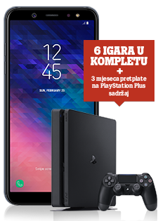 Samsung Galaxy A6 Dual SIM i PlayStation®4 Slim 500GB