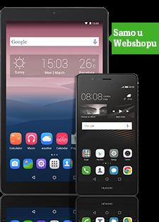 Huawei P9 Lite Grey + Alcatel Pixi3 10
