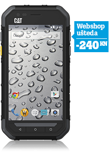 CAT S30 Dual SIM crni