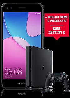 Huawei P9 Lite Mini Dual SIM crni i PlayStation®4 Slim 500GB