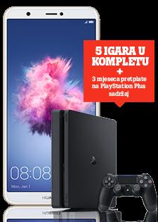 Huawei P Smart Dual SIM i PlayStation®4 Slim 500GB