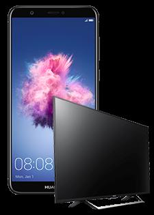 Huawei P Smart i Sony Smart TV