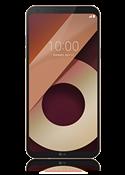 LG Q6 zlatni