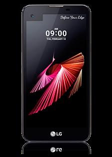 LG X Screen Black