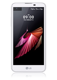 LG X Screen White