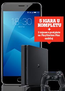 Meizu M5 Note Dual SIM i PlayStation®4 Slim 500GB