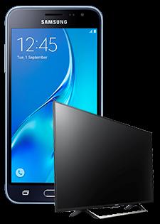 Samsung Galaxy J3 i Sony Smart TV