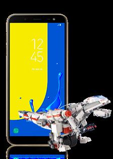 Samsung Galaxy J6 + Mi Robot Builder