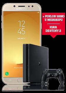 Samsung Galaxy J7 2017 Dual SIM i PlayStation®4 Slim 500GB
