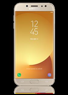 Samsung Galaxy J7 2017 zlatni