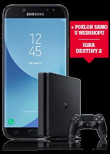 Samsung Galaxy J7 2017 i PlayStation®4 Slim 500GB