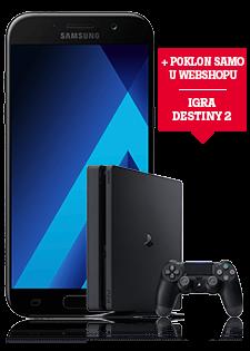 Samsung Galaxy A5 2017 i PlayStation®4 Slim 500GB
