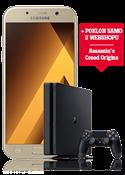 Samsung Galaxy A5 2017 zlatni i PlayStation®4 Slim 500GB