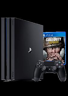 PlayStation 4 Pro 1TB i COD:WW II