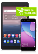 Huawei P9 Lite Mini Dual SIM crni i Alcatel Pixi3 tablet