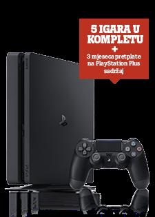 Sony PlayStation@4 Slim 500GB Mega Paket