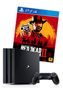 Sony Playstation®4 Pro 1TB i RDR2