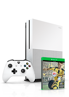 Microsoft Xbox One S 500GB i Fifa 2017