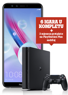 Honor 9 Lite Dual SIM crni i PlayStation®4 Slim 500GB