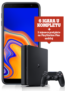 Samsung Galaxy J4+ Dual SIM i PlayStation®4 Slim 500GB