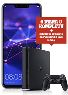 Huawei Mate 20 Lite Dual SIM crni i PlayStation®4 Slim 500GB
