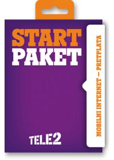 Start paket Mobilni internet