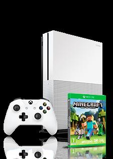 Microsoft Xbox One S 500GB i Minecraft