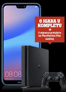 Huawei P20 Lite Dual SIM i PlayStation®4 Slim 500GB