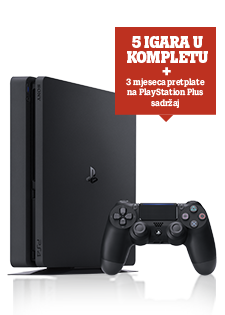 PlayStation®4 500 GB Slim Mega Paket