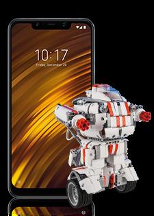 Xiaomi Pocophone F1 Dual SIM i Xiaomi Mi Robot Builder
