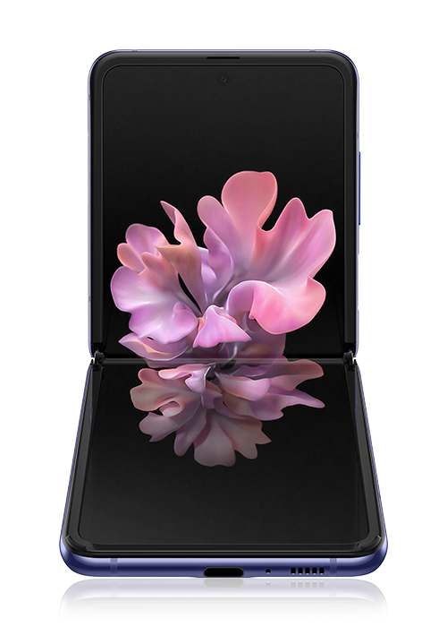 Galaxy Z Flip Purple Mirror