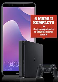 Huawei Y7 Prime 2018 Dual SIM i PlayStation®4 Slim 500GB